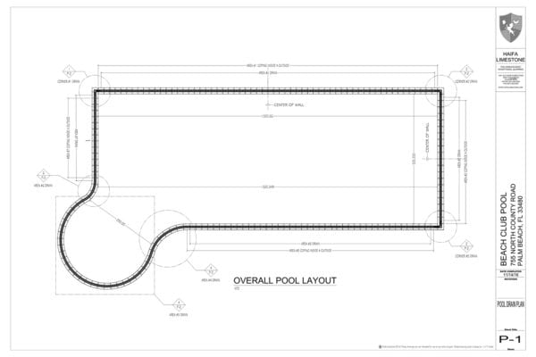 POOL LAYOUT 1600